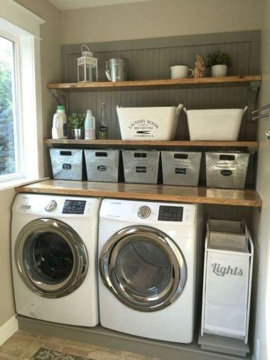 Best Small Laundry Room Design Ideas10