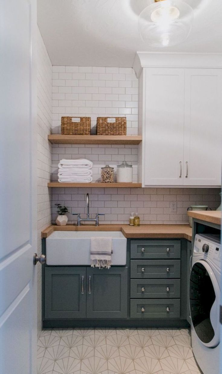 Best Small Laundry Room Design Ideas18