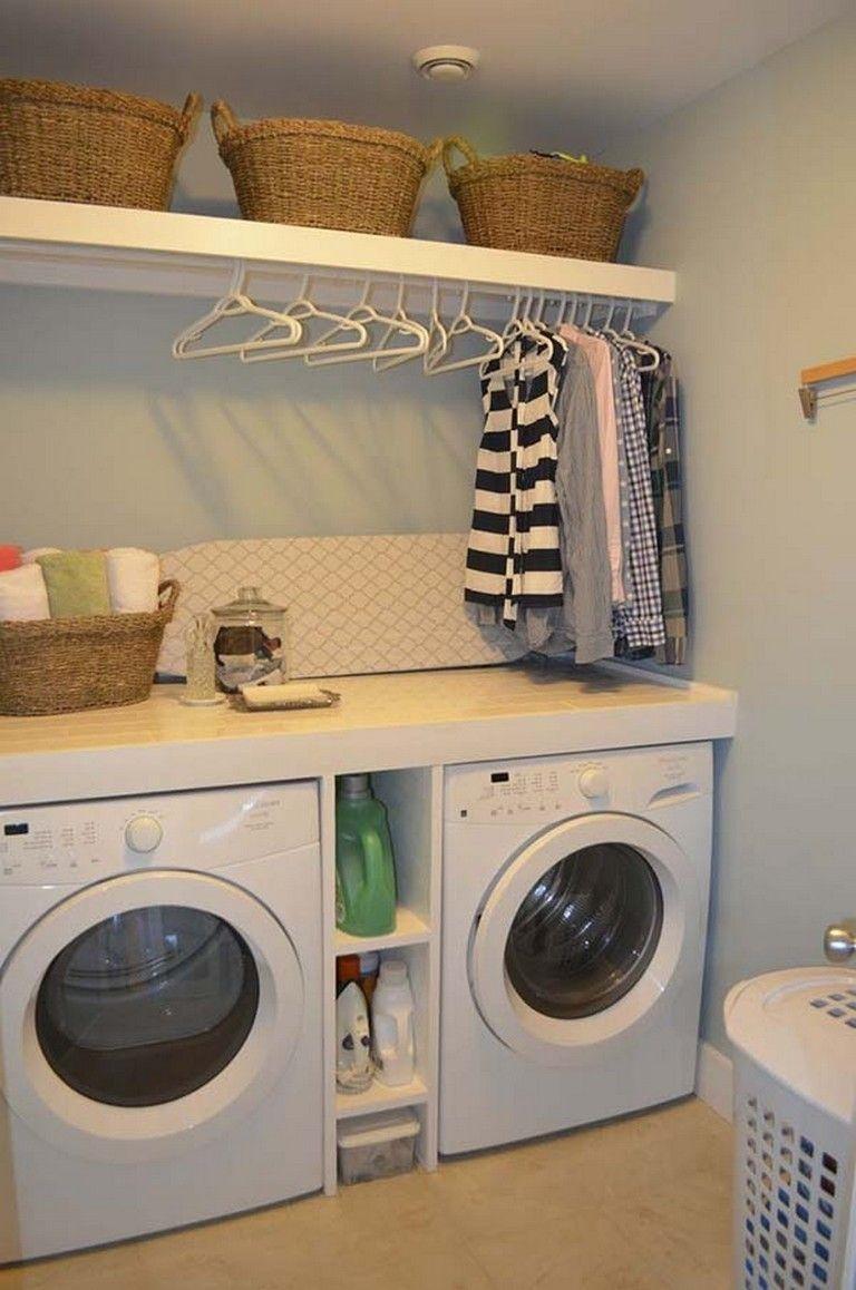 Best Small Laundry Room Design Ideas20