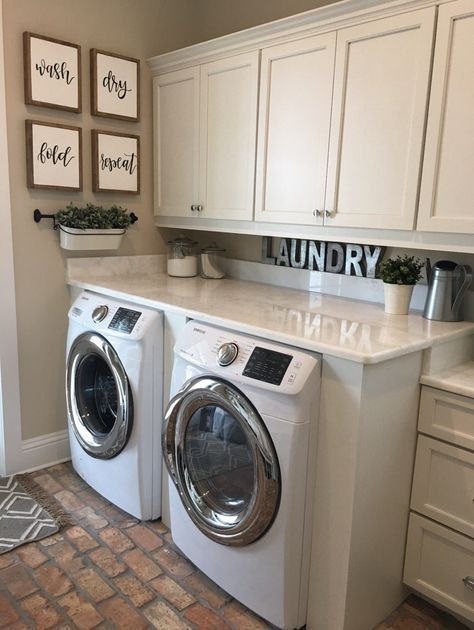 Best Small Laundry Room Design Ideas21