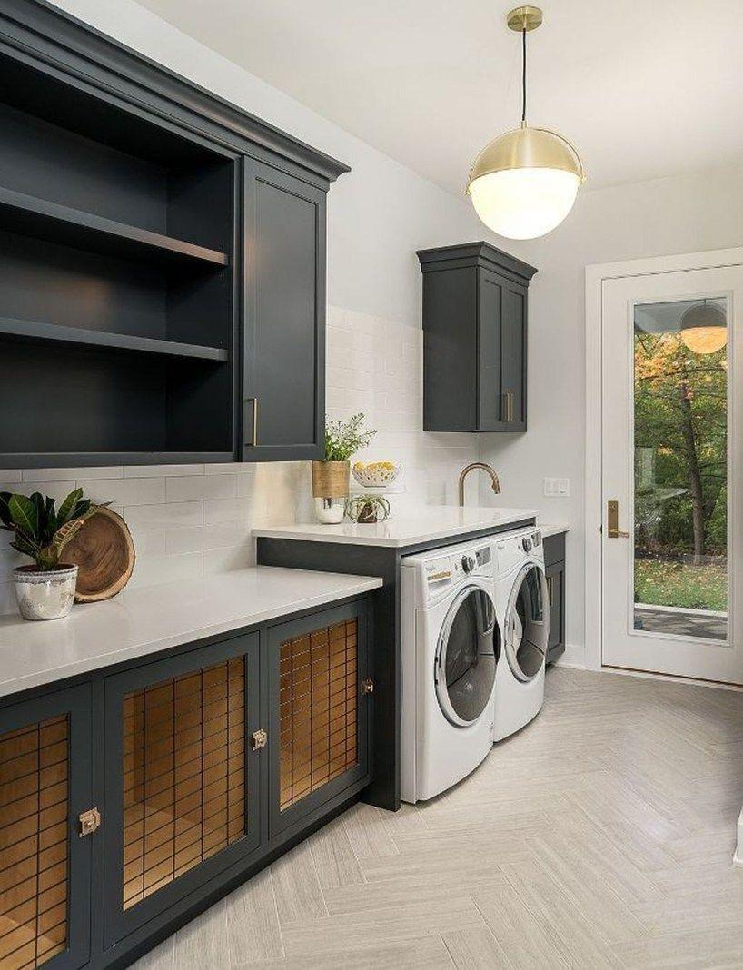 Best Small Laundry Room Design Ideas23