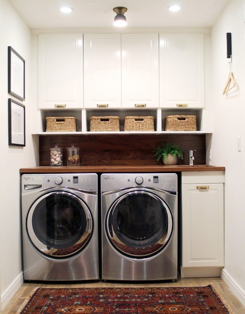 Best Small Laundry Room Design Ideas25