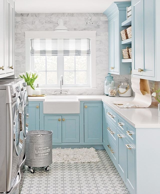 Best Small Laundry Room Design Ideas43