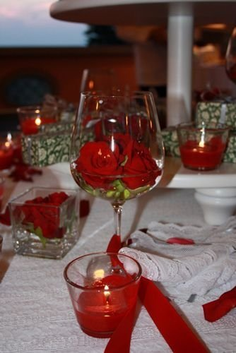 Cheap Valentine Table Decoration Ideas02