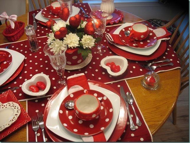 Cheap Valentine Table Decoration Ideas06