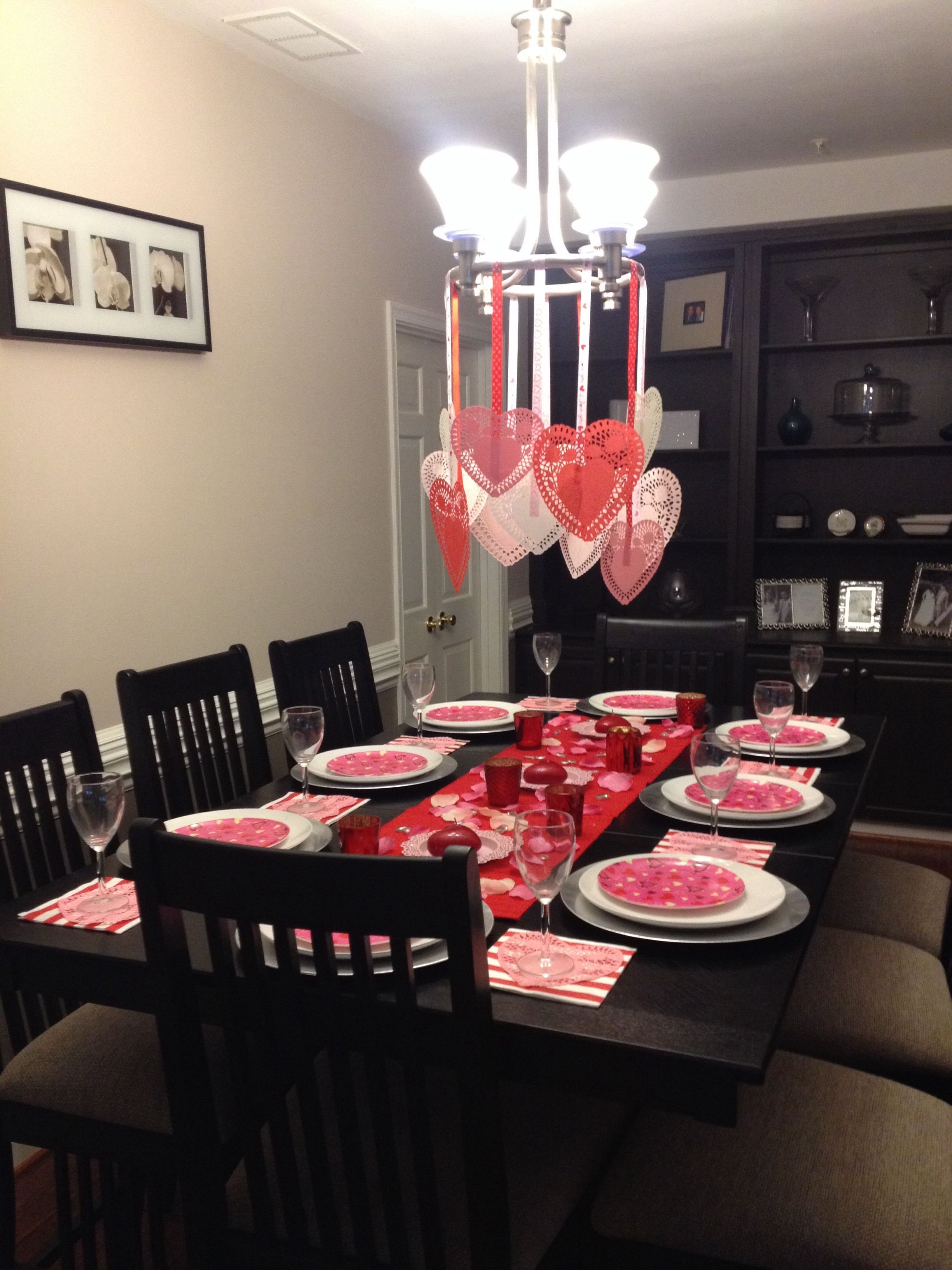 Cheap Valentine Table Decoration Ideas15