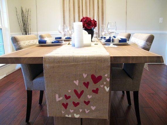 Cheap Valentine Table Decoration Ideas16