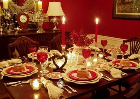 Cheap Valentine Table Decoration Ideas24