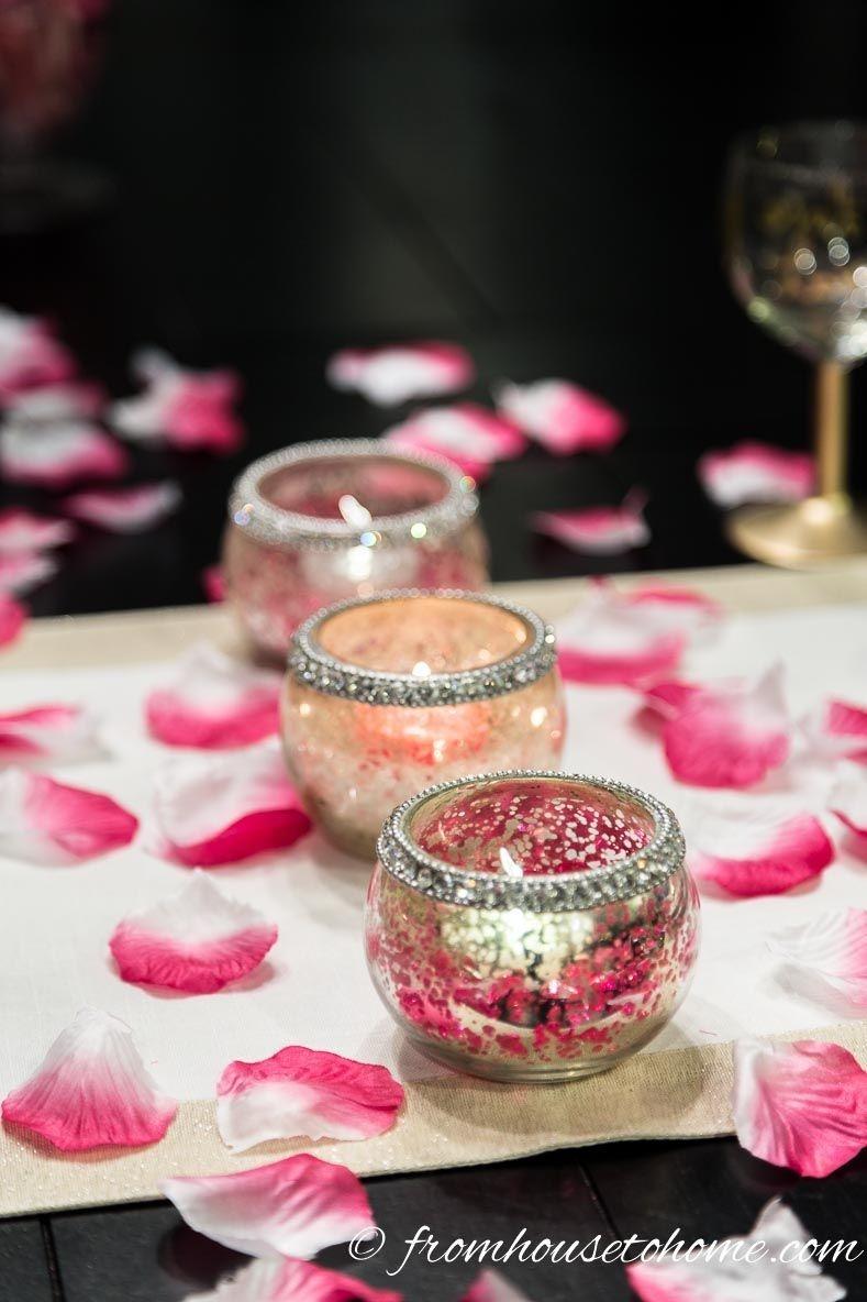 Cheap Valentine Table Decoration Ideas27