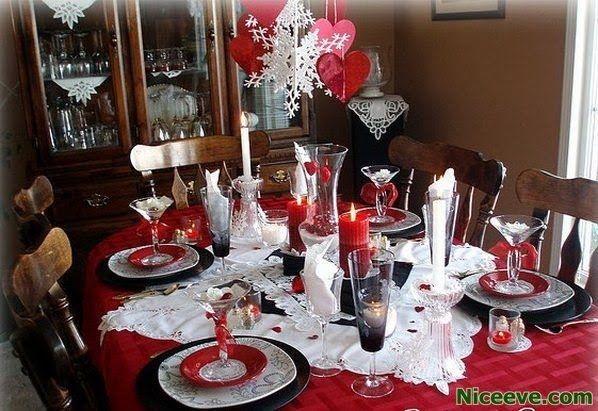 Cheap Valentine Table Decoration Ideas33