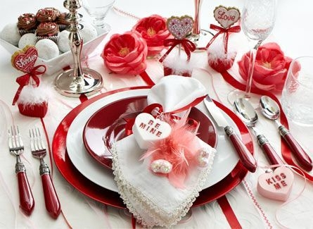Cheap Valentine Table Decoration Ideas39