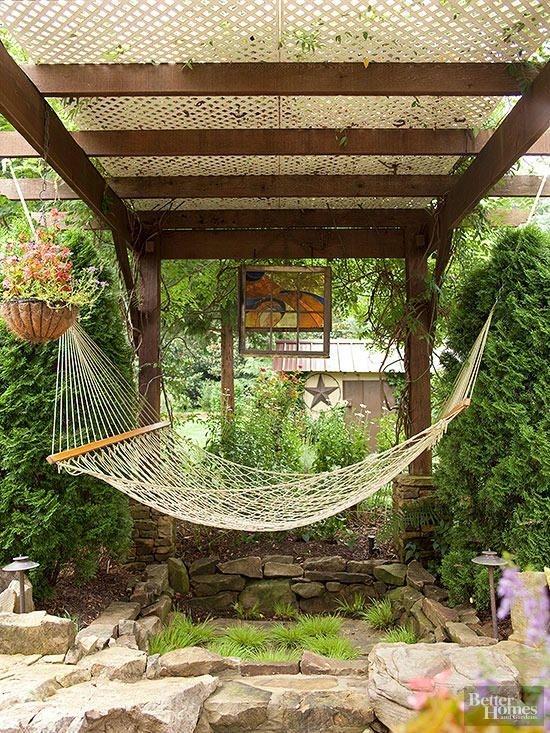 Creative Backyard Hammock Design Ideas03