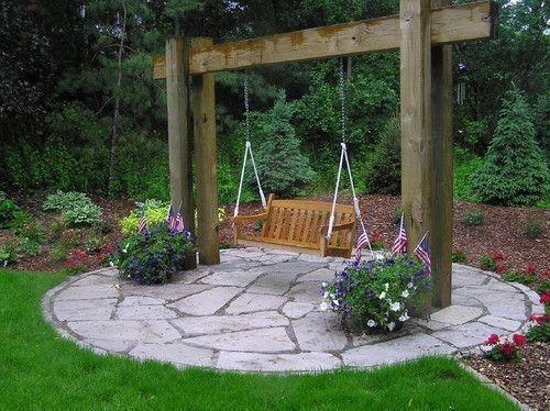 Creative Backyard Hammock Design Ideas16