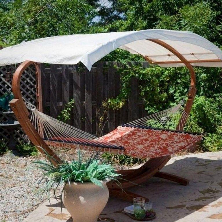 Creative Backyard Hammock Design Ideas18