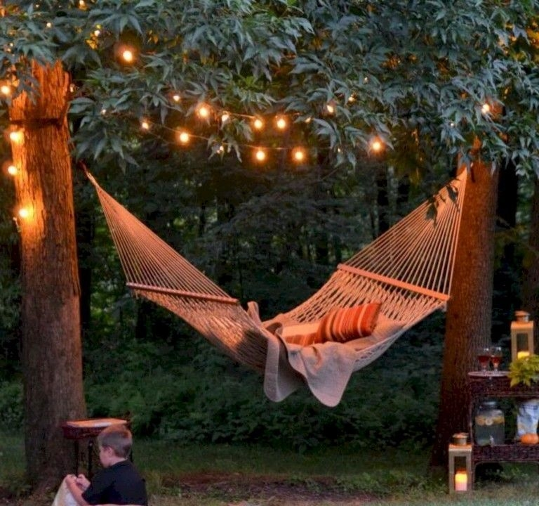Creative Backyard Hammock Design Ideas20