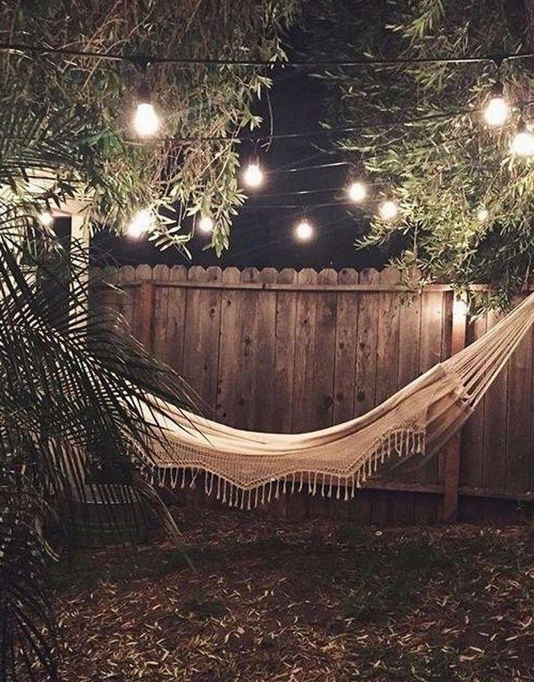 Creative Backyard Hammock Design Ideas22