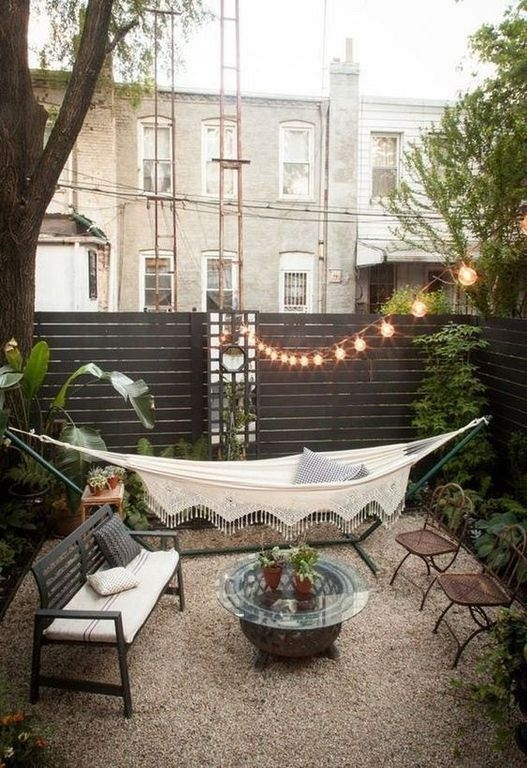 Creative Backyard Hammock Design Ideas24