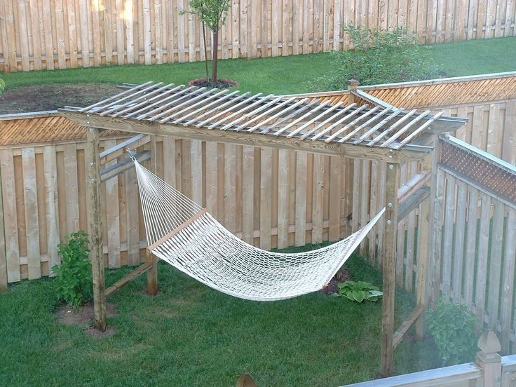 Creative Backyard Hammock Design Ideas27