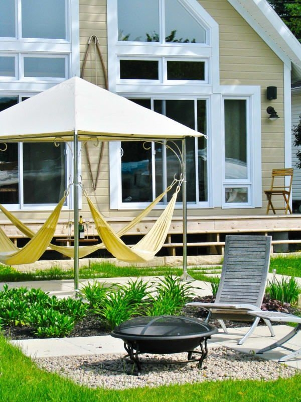 Creative Backyard Hammock Design Ideas29