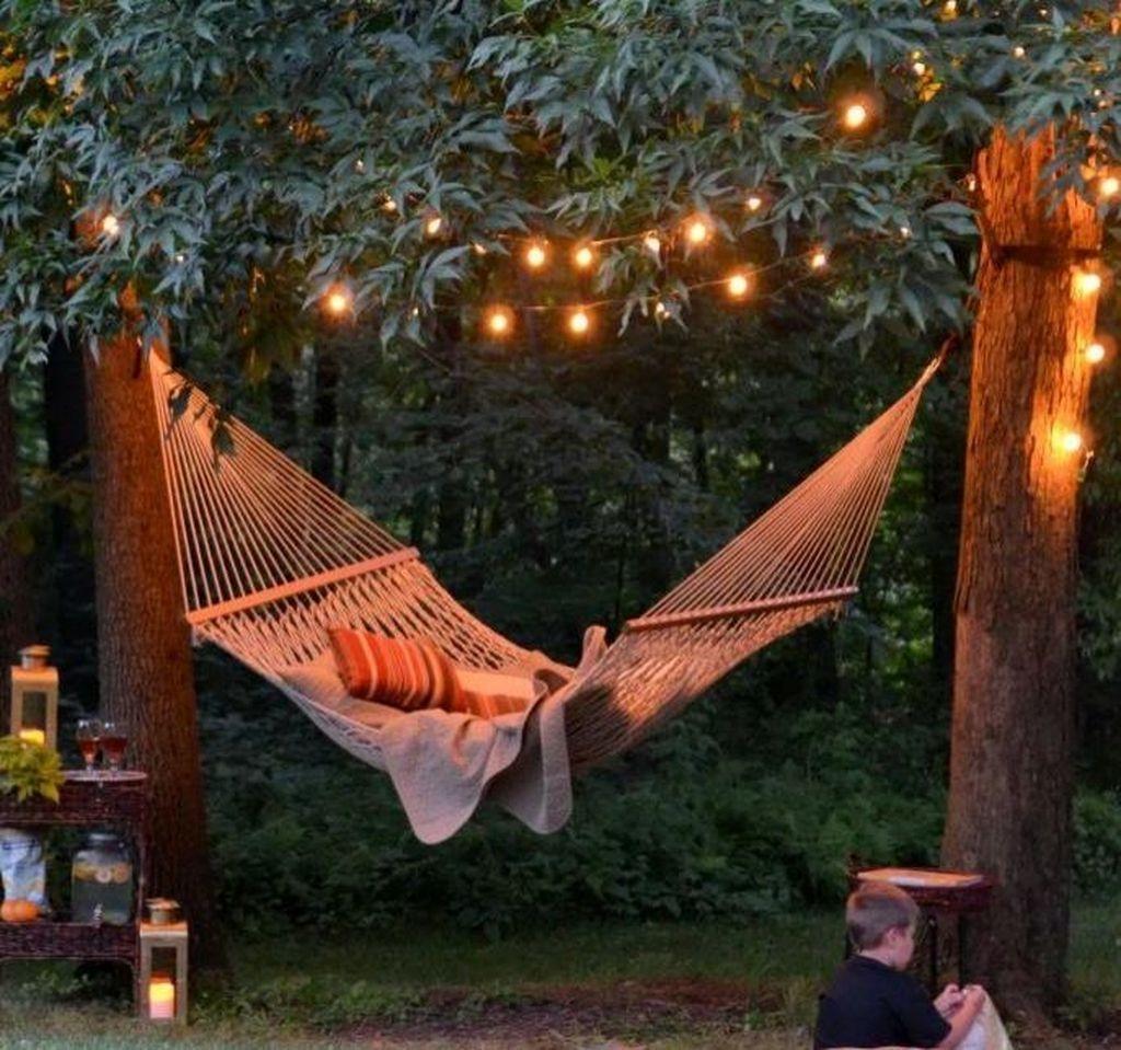 Creative Backyard Hammock Design Ideas33