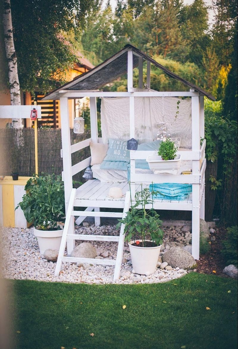 Creative Backyard Hammock Design Ideas34