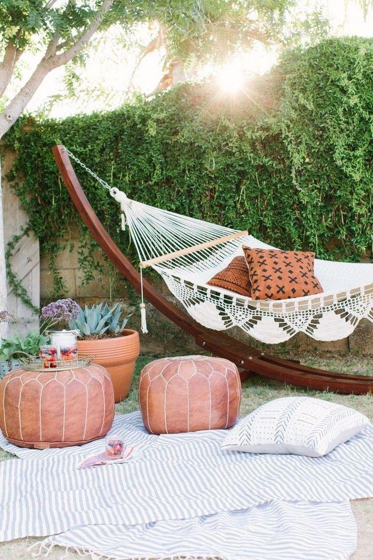 Creative Backyard Hammock Design Ideas37