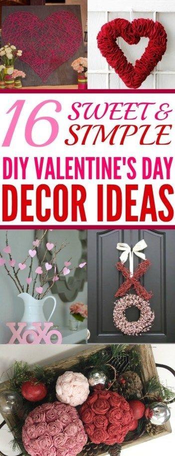 Elegant Diy Home Décor Ideas For Valentines Day19