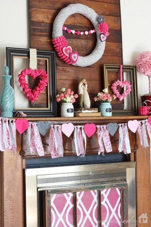 Elegant Diy Home Décor Ideas For Valentines Day20