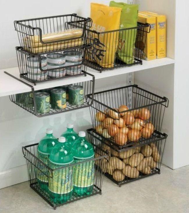Elegant Kitchen Organization Ideas For Your Kitchen06