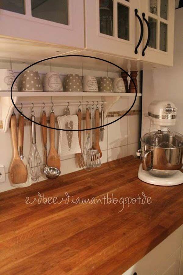 Elegant Kitchen Organization Ideas For Your Kitchen15