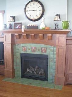 Fabulous Vintage Fireplace Design Ideas12