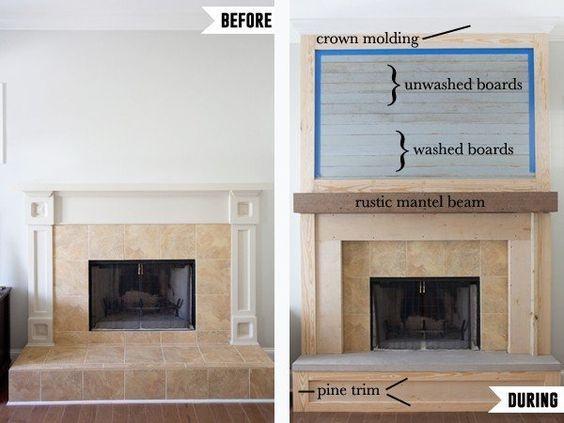 Fabulous Vintage Fireplace Design Ideas19