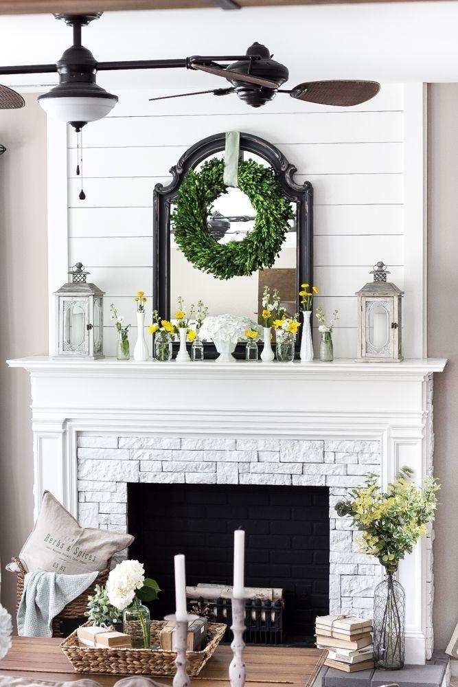 Fabulous Vintage Fireplace Design Ideas22