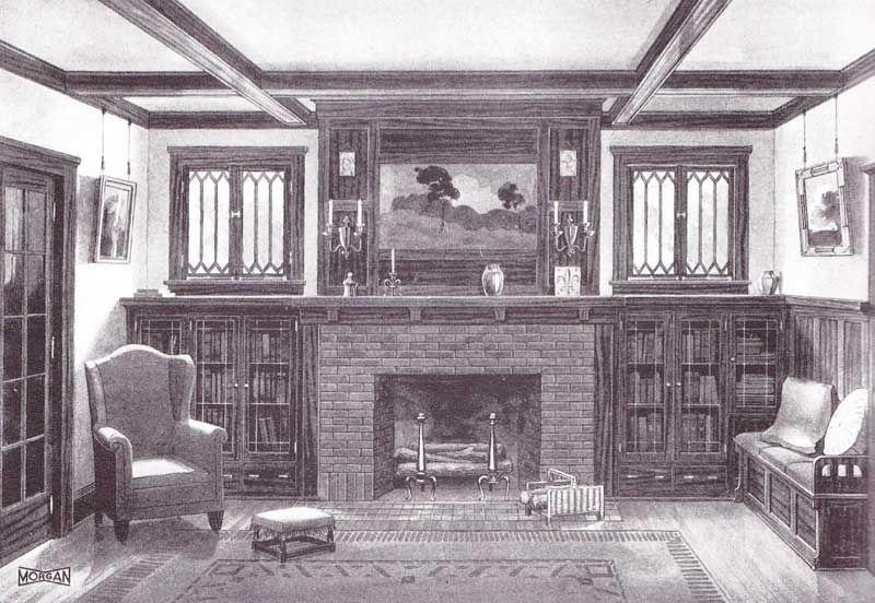 Fabulous Vintage Fireplace Design Ideas38