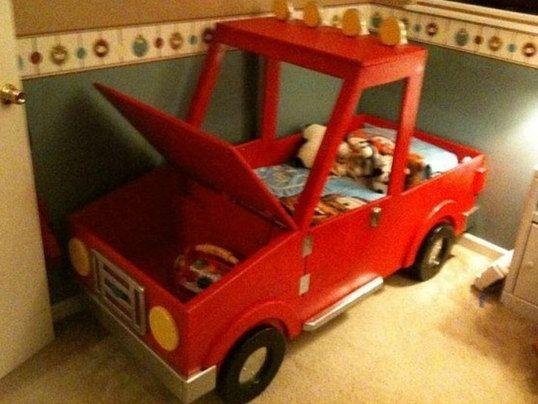 Gorgeous Diy Kids Car Bed Ideas03