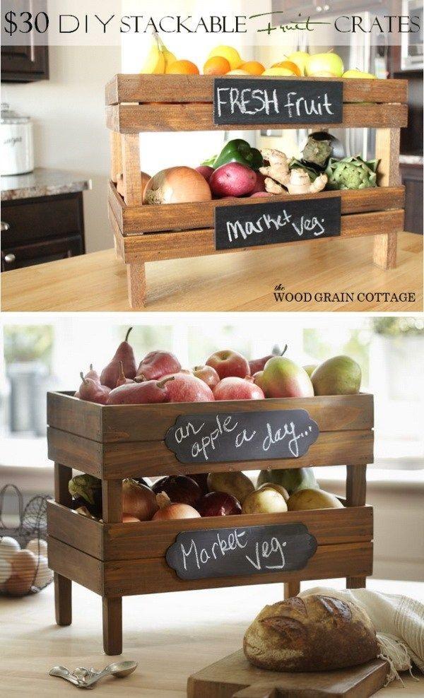 Impressive Diy Ideas For Kitchen Storage41
