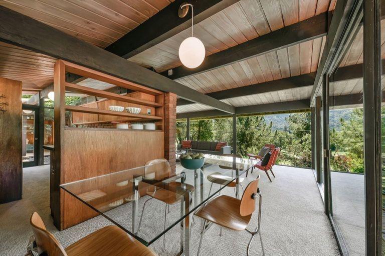 Impressive Mid Century Dining Room Design Ideas12