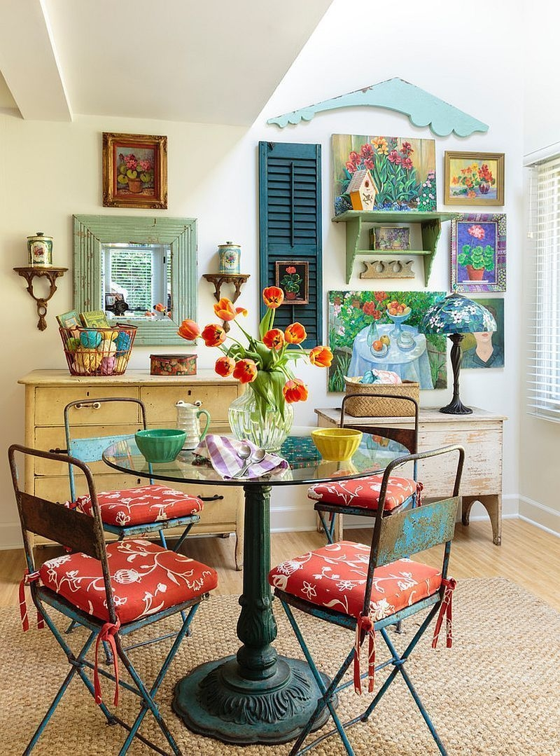 Impressive Mid Century Dining Room Design Ideas20
