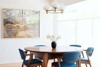 Impressive Mid Century Dining Room Design Ideas38
