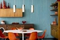 Impressive Mid Century Dining Room Design Ideas40