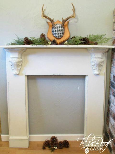 Incredible Halloween Fireplace Mantel Design Ideas06