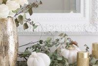 Incredible Halloween Fireplace Mantel Design Ideas36