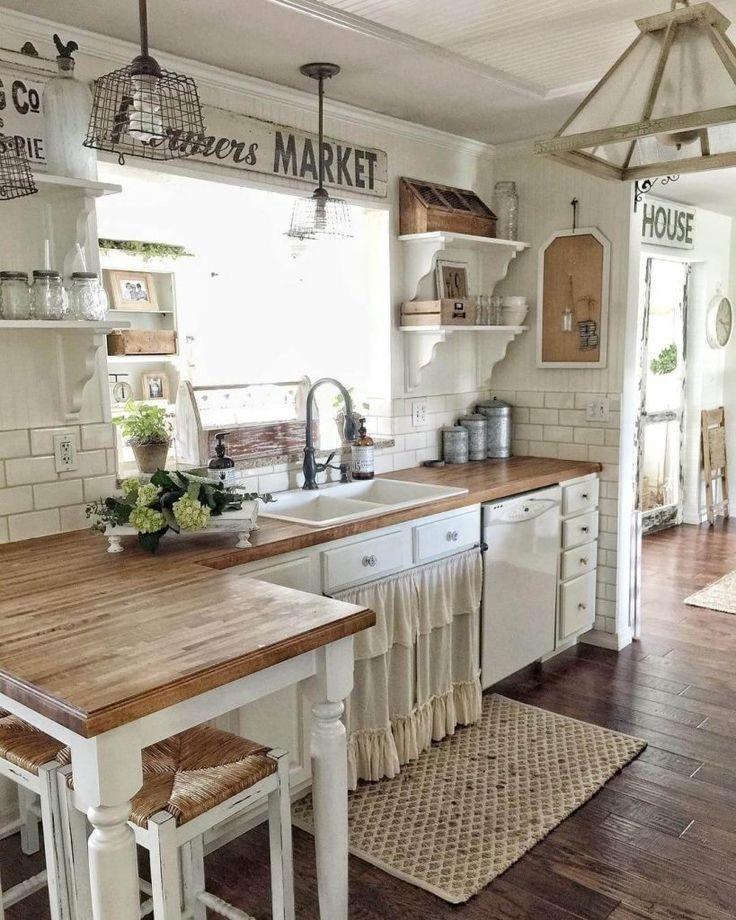 Magnificient Farmhouse Kitchen Design Ideas02