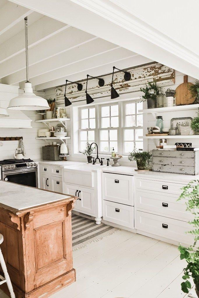 Magnificient Farmhouse Kitchen Design Ideas14