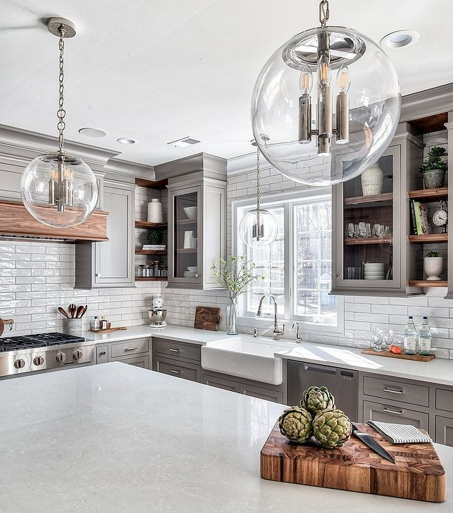 Magnificient Farmhouse Kitchen Design Ideas16