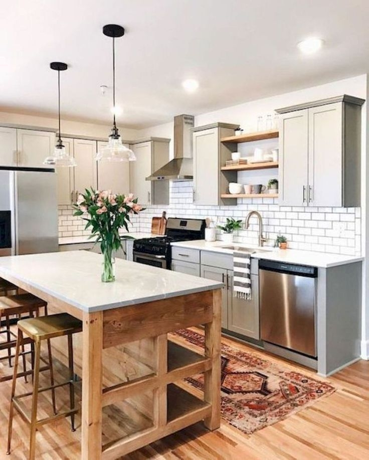 Magnificient Farmhouse Kitchen Design Ideas21