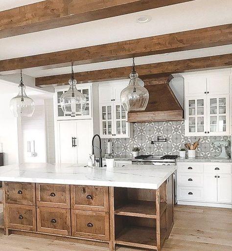 Magnificient Farmhouse Kitchen Design Ideas35