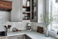 Magnificient Farmhouse Kitchen Design Ideas36