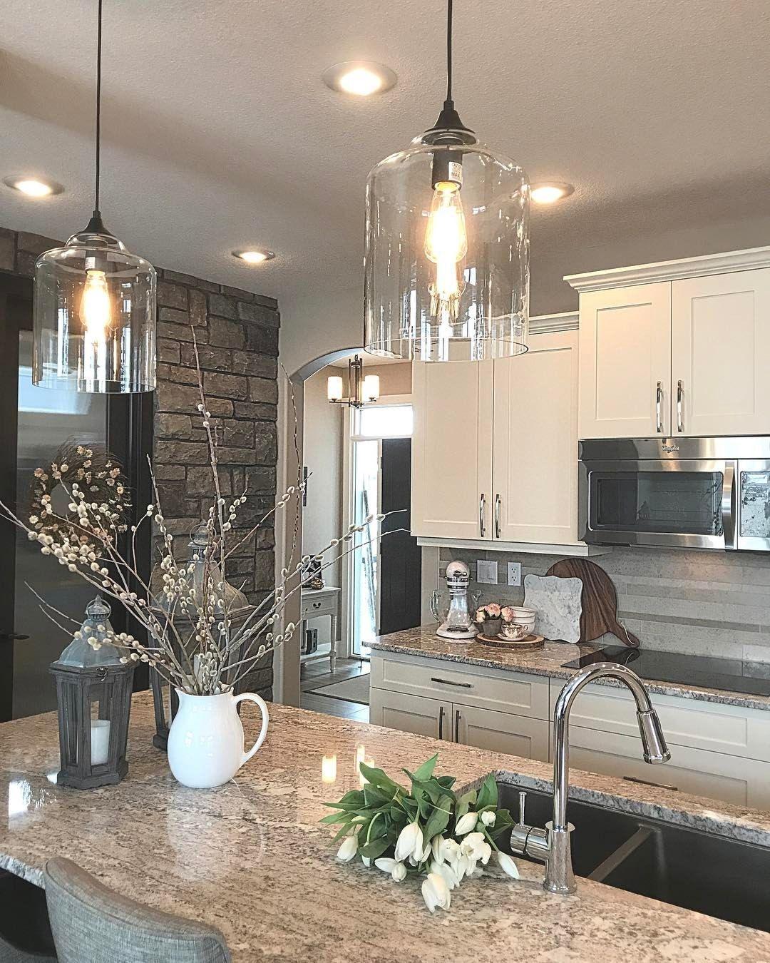 Magnificient Farmhouse Kitchen Design Ideas40