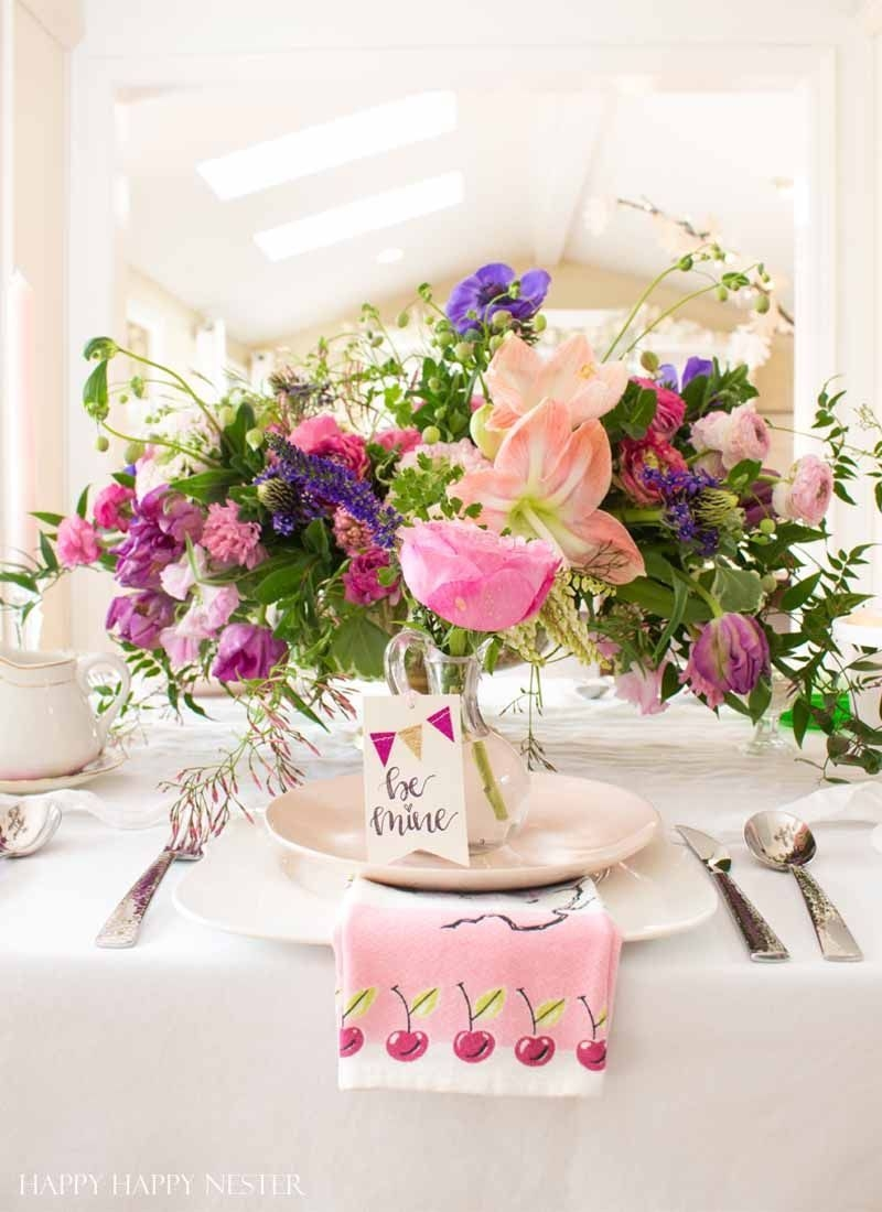 Magnificient Valentines Day Table Decorating Ideas01